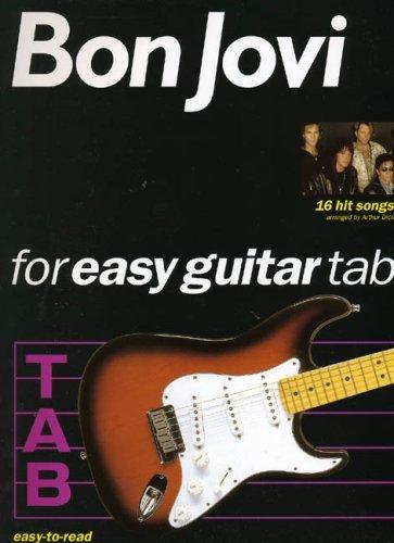 Bon Jovi Guitar Tab Books (Bon Jovi: For Easy Guitar Tab by Bon Jovi (1996-06-06))