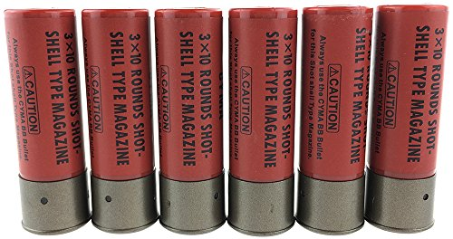 SportPro 30 Round Polymer Shell  for 6mm BB Airsoft - Red