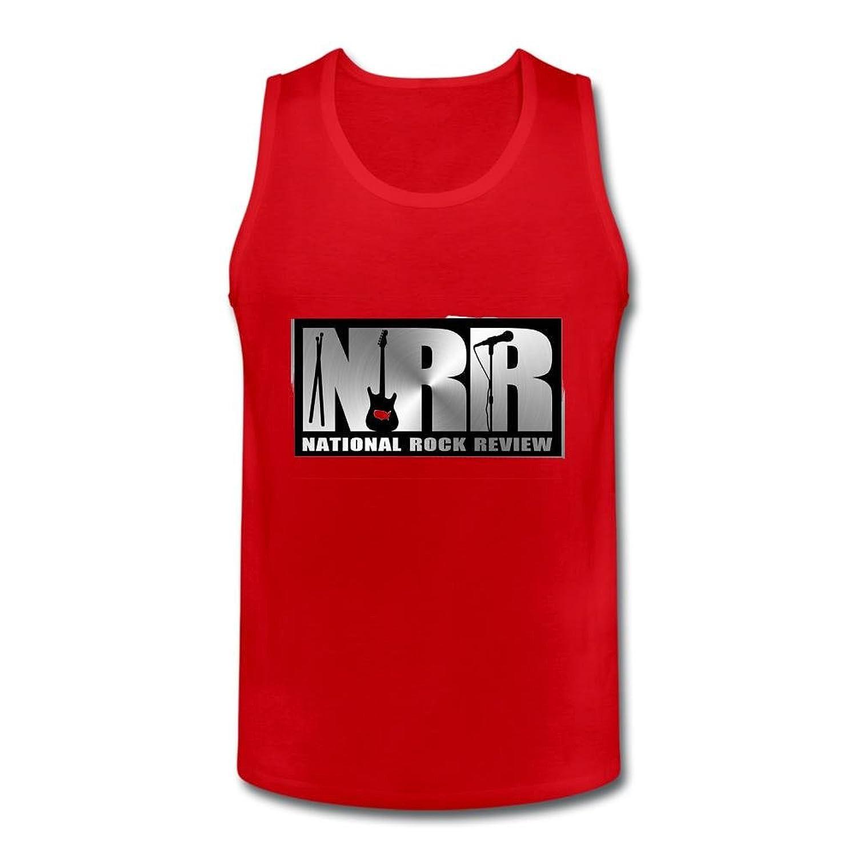 Mustand Flowers Men's National Rock Review Logo Vest Tank