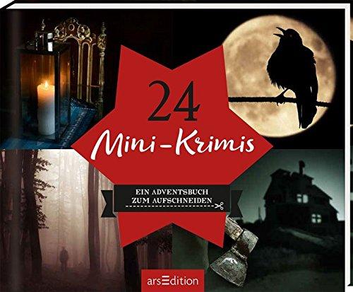 24 Mini-Krimis: Ein Adventsbuch zum Aufschneiden Gebundenes Buch – 25. September 2018 arsEdition 3845826762 NON-CLASSIFIABLE Weihnachten