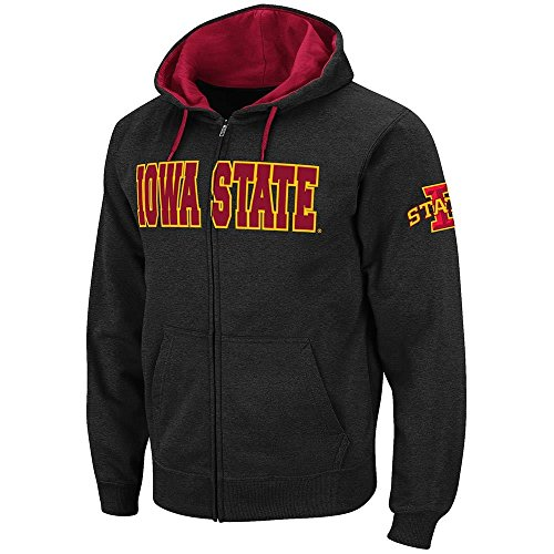 (Mens Iowa State Cyclones Full Zip Hoodie - S)