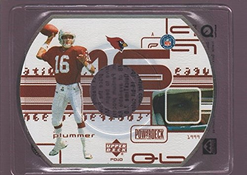 JAKE PLUMMER CARDINALS POWER DECK DIE CUT CD 1999 UD UPPER DECK POWERDECK CD-ROM
