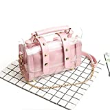 Women's Handbags Crossbody Bags Clear Bag Set Messenger Shoulder Bags Totes Pink B04