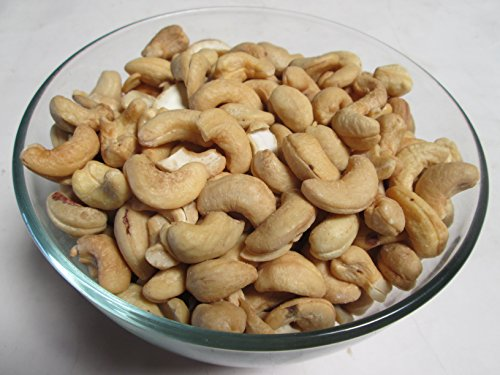 (Roasted & Salted Whole Cashews, 3 LB bag)