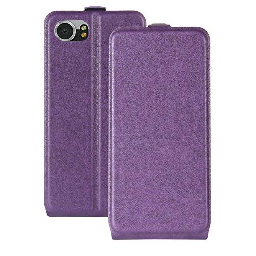 TOTOOSE BlackBerry Keyone Case,[ Shock Absorbent ] Pocket PU Leather Kickstand Wallet Cover Durable Flip Case for BlackBerry Keyone (Flip Top Blackberry)