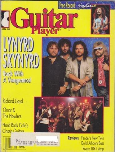 Guitar Player Magazine (January 1988) (Lynyrd Skynyrd Back with A Vengeance)