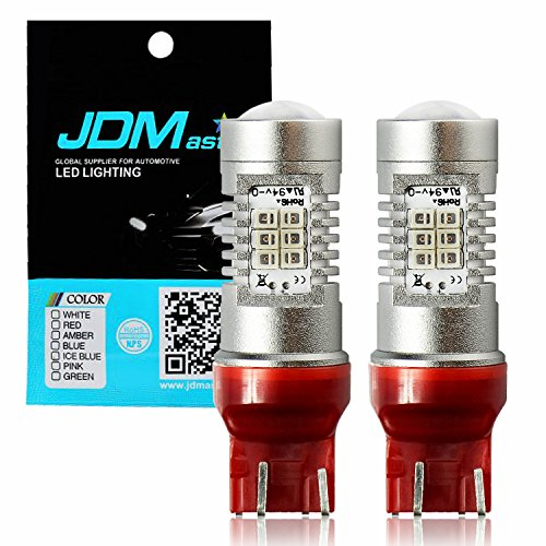 JDM ASTAR Extremely Bright PX Chips 7440 7441 7443 7444 Red Brake LED Bulb