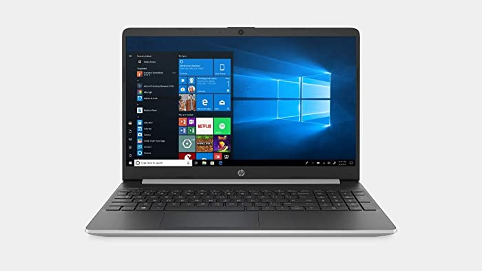 "2020 HP 15.6"" HD Touchscreen Premium Home & Business Laptop, 10th Gen Intel Quad-Core i5-1035G1 Upto 3.6GHz, 8GB RAM, 512GB SSD, WiFi, HDMI, Bluetooth, Card Reader, Windows 10"