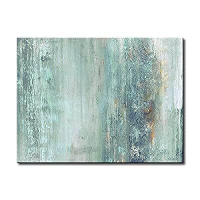 """Ready2HangArt Abstract Spa Modern Contemporary Gallery Wrapped Canvas Print, 30"""" x 40"""", Blue - Beautifull Wall Art Format: Horizontal Subject: Abstract - wall-art, living-room-decor, living-room - 515tCs7nlfL. SS400  -"""