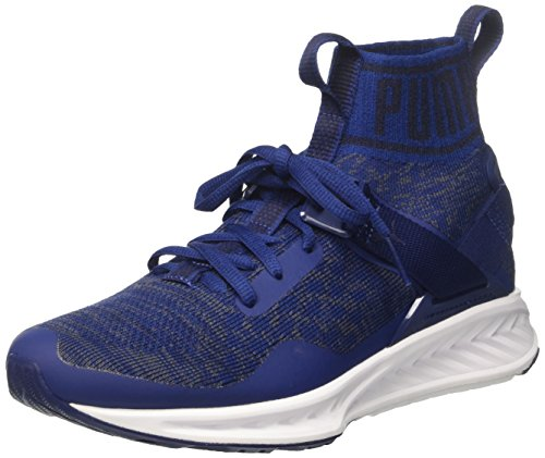 Puma Ignite Evoknit, Scarpe Sportive Outdoor Unisex – Adulto Blu (Blue Depths-quiet Shade-peacoat)