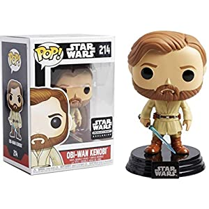 POP!: Star Wars #214 – OBI-Wan Kenobi (Star Wars Smuggler's Bounty Exclusive)