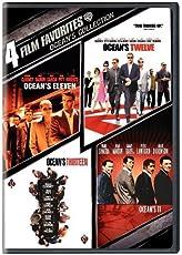 4 Film Favorites: Ocean's Collection: (Ocean's 11, Ocean's Eleven, Ocean's Twelve, Ocean's Thirteen)