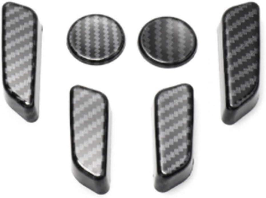 Flowing CHENZHEN Car Seat Button ABS Decorative Cover Fit for Tesla Model 3 2017-2021 Car Seat Adjust Knob Decorative Cover CZ (Color Name : M3 DE26L)