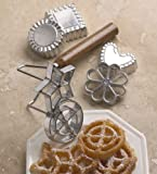 Fox Run Rosette and Timbale Set, Cookies