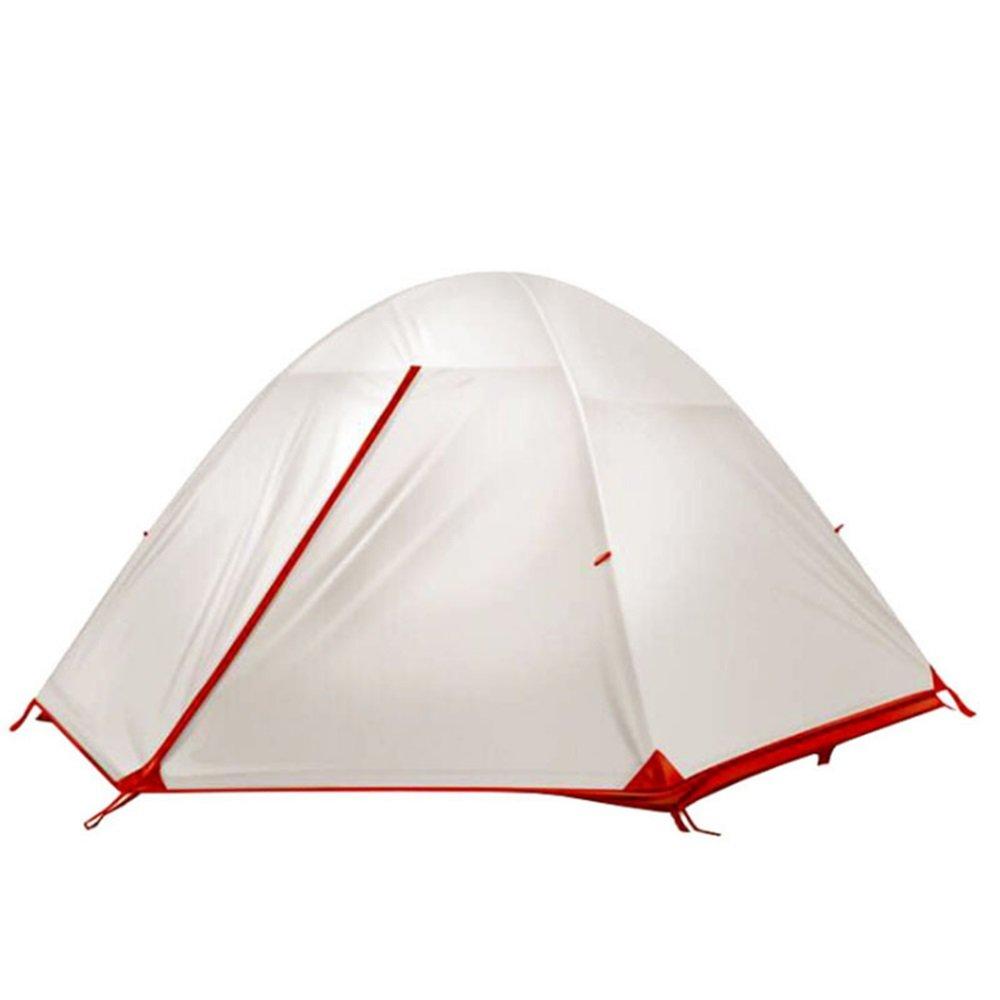 Yzibei Haltbar Outdoor Nylon 15D Silikon Double Double Light Regen Sonnenschutz Camping Zelt