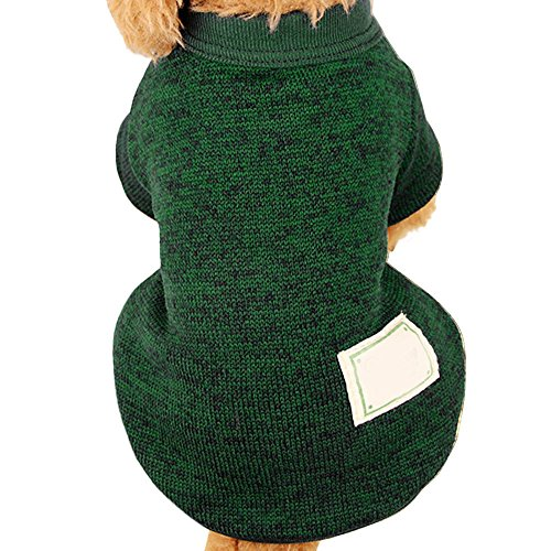 Wouke Pet Clothes, Puppy Sweater Soft Warm Fleece