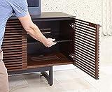 BDI Furniture Corridor Quad Cabinet, Chocolate