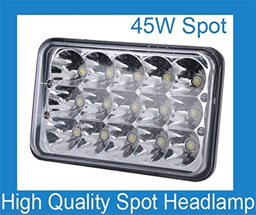 6.5 Inch 45W LED Work Light Bar Spot Replace DRIVING HEADLAMP OFFROAD 12V 24V