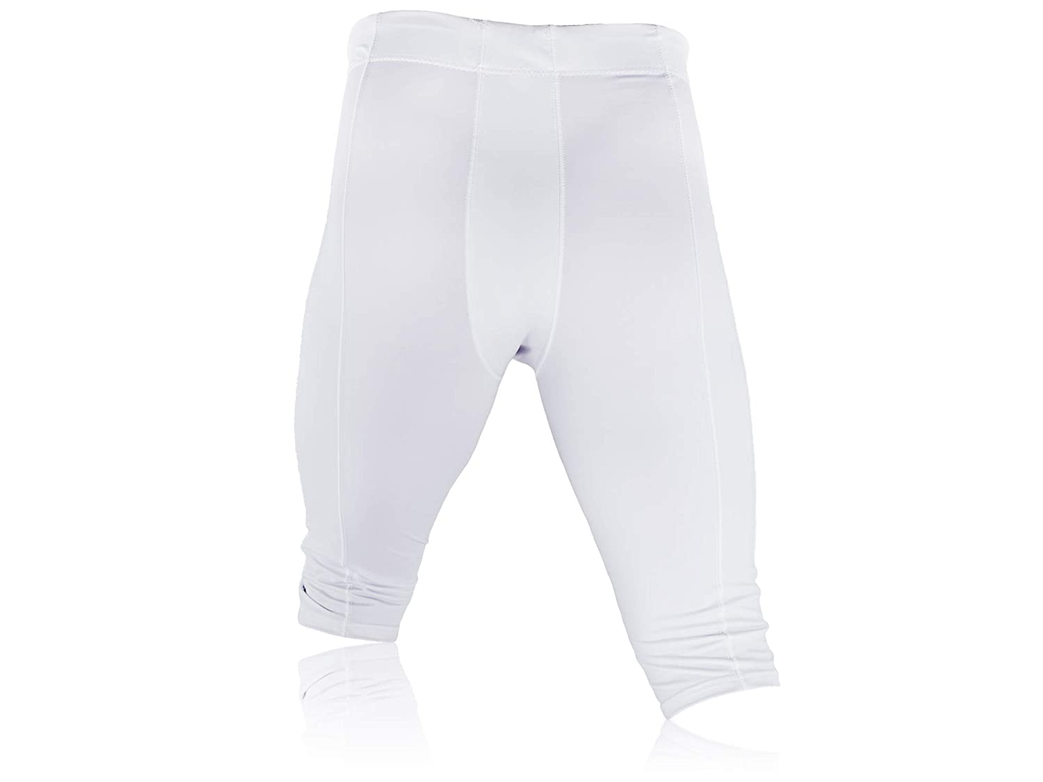 Full Force American Football Professional Trousers Stretch White Size YL-5XL