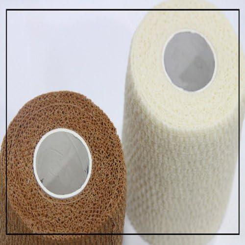 MaMaison007 Vendaje de cinta muscular cuidado cinta algodón médico deportes-10 CM blanco: Amazon.es: Hogar