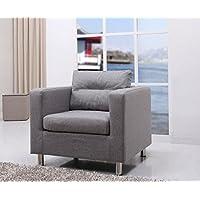 Gold Sparrow Detroit Arm Chair, Ash