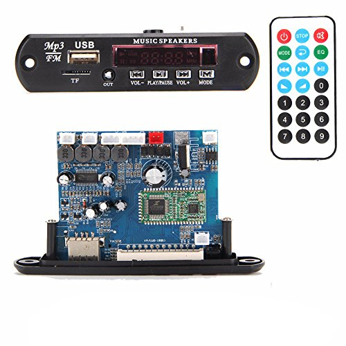 Beaster APP Control Bluetooth 4.0 MP3 Decoding Board Module 210w power amplifier TF Card USB FM APE FLAC WAV WMA Decoder Board