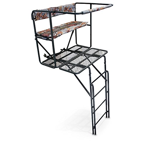 Double-Rail 2 Man Ladder Tree Stand