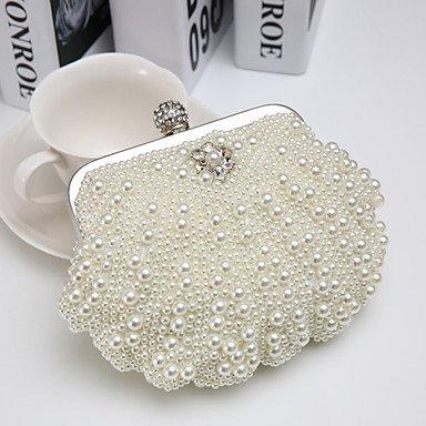SUNNY KEY-Clutches@Damen Polyester Formell / Veranstaltung / Fest Abendtasche Weiß / Beige