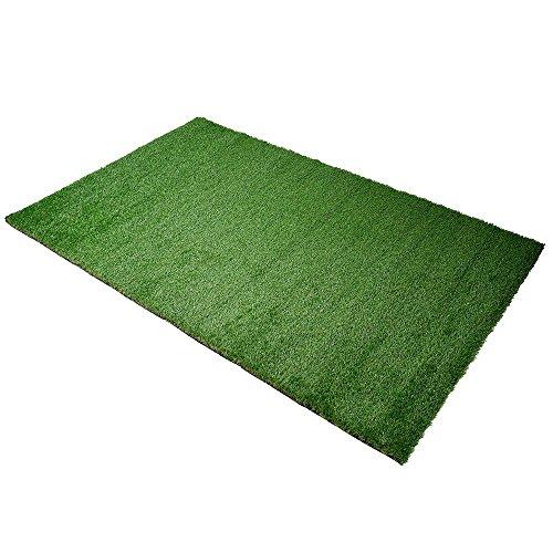 Yescom 4x6.6ft Artificial Grass Mat Fake Lawn Pet Turf Synthetic Green Garden Outdoor Indoor