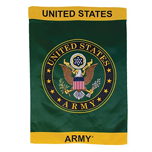 - In the Breeze U.S. Army Symbol Lustre House Banner