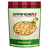 unsalted roasted shelled peanuts - Sincerely Nuts Roasted and Unsalted Blanched Peanuts- Three Lb. Bag- Healthy Snacks To Go- Sealed for Unmatched Freshness- Kosher Certified