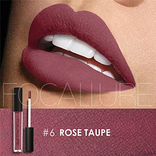 Purple Lipstick Matte Lipgloss Makeup Womens Stay On Glossier Liquid Lip Gloss Long Lasting Colorful Waterproof Lip Stick