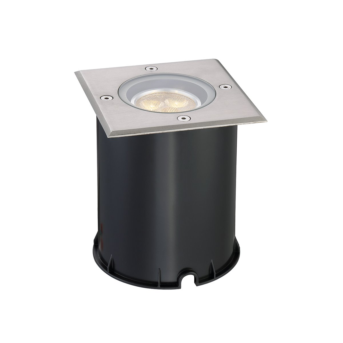 Eurofase 31596-015 Inground Outdoor Square LED, Stainless Steel