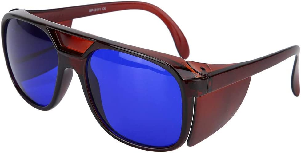 Gafas de protección contra rayos UV, Gafas de protección contra rayos láser Gafas de seguridad anti rayos infrarrojos para la vista, antirreflejo, protección contra los rayos ultravioleta