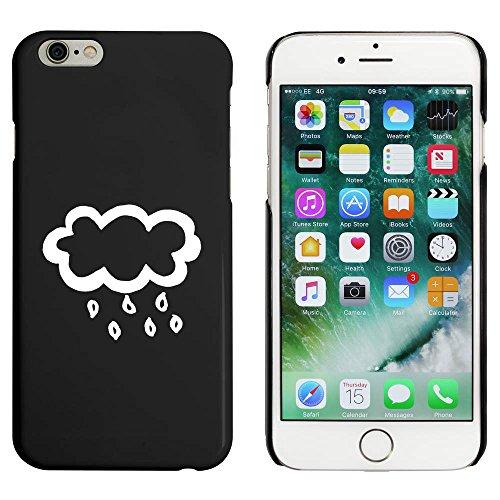 Schwarz 'Regenwolke' Hülle für iPhone 6 u. 6s (MC00004425)