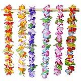 Joyin Toy 36 Counts Tropical Hawaiian Luau Flower