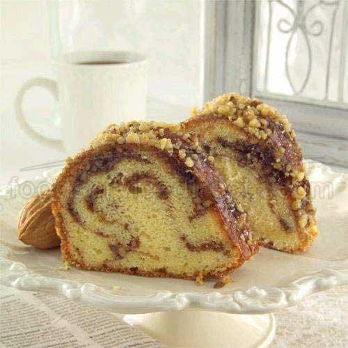 Sweet Street Sandys Sour Cream Coffee cake, 16 Slice -- 4 per case.]()