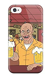 Premium Protection Adult Swim Cartoon Grown Up Adultswim Superjail Anime Cartoon Case Cover For Iphone 4/4s- Retail Packaging