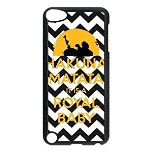 ipod 5 phone cases Black Hakuna Matata fashion cell phone cases YEDS9177082