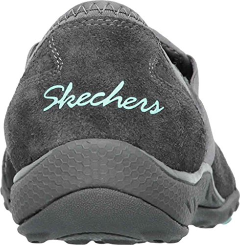 In Relaxed Skechers Easy Me Charbon Slip On Sneakers Womens Breathe Fit Deal qASUUZxp