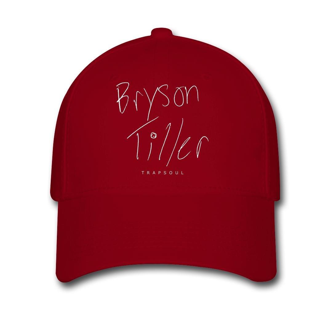 eb413449490 Amazon.com  Men Women Unisex Adjustable Snapback Hats American Hip hop  Bryson Tiller tour 2016 Baseball Cap  Home   Kitchen