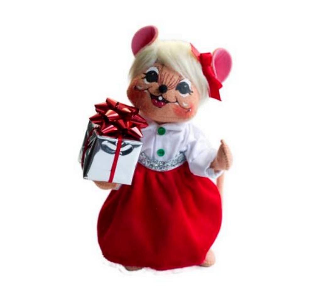 Amazon.de: Annalee Puppen 20, 3 cm Silver Sparkle Mädchen Maus