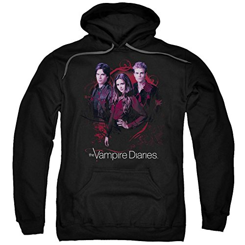 Hoodie: Vampire Diaries- Company Of Three Pullover Hoodie Size M]()