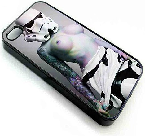 VenKa Store iPhone 7 7s Back Phone Case Cover OF Stormtrooper Star Wars Sexy Girl (Storm Trooper Sexy)