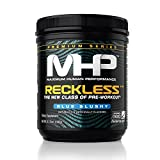 MHP, Reckless Pre-Workout, Blue Slushy, 5.15 Ounce