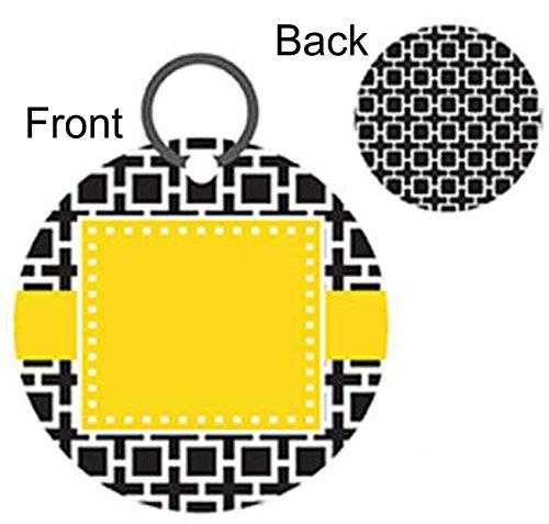 - Personalized Acrylic Keychains (Bold Squares)