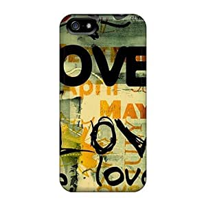 Defender Case For Iphone 5/5s, Love Pattern