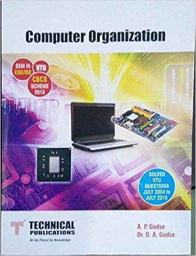 Buy Computer Organization for VTU ( Sem-III CSE / ISE CBCS Scheme
