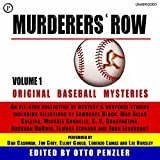 img - for Murderers' Row: Original Baseball Mysteries, Volume 1 book / textbook / text book