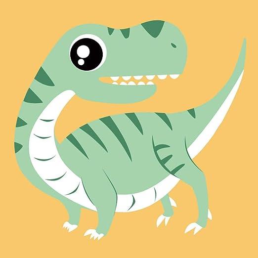 OKOUNOKO Set De Pinturas Para Niños Estuche Con Pincel, Dinosaurio 6, Apto Para Principiantes Y Niños, Con Marco 8X12In, 20X30Cm: Amazon.es: Hogar